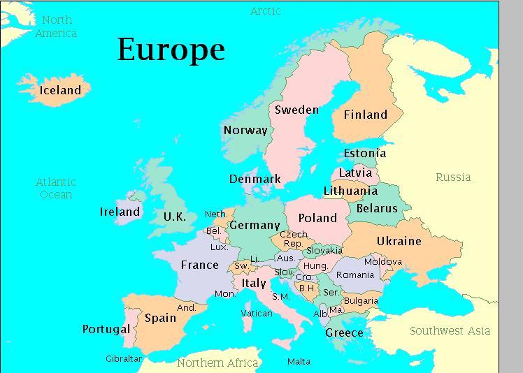 Harti Online Harta Rutiera A Lumii Harta Auto Europa Harta
