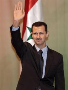 Bashar al-Assad, presedintele Siriei