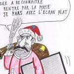 Românii, insultaţi din nou în Franţa, într-o caricatură