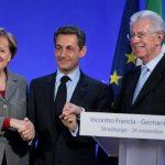 """""""Pactul secret"""" Monti-Merkel: Austeritate însoţită de stimulente economice"""