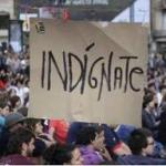 """Spania: Zeci de mii de """"indignaţi"""" au ieşit în stradă"""