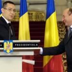 Băsescu îl ameninţă pe Ponta cu Parchetul, în scandalul participării la Consiliul European