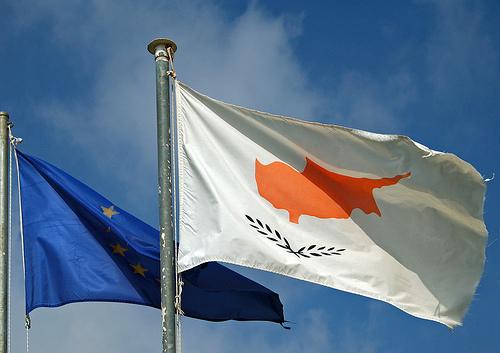 Cyprus-EU-Flags