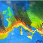 Temperatura din zona euro