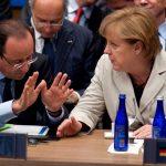 Francois Hollande i-a trimis Angelei Merkel planul său de relansare a economiei UE