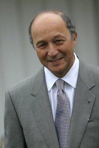 Laurent Fabius, ministrul francez de externe