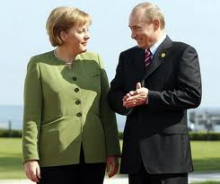Putin si Merkel