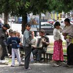 Un grup de romani de etnie roma au ocupat un parc privat in Londra