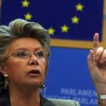 VIDEO. CORESPONDENTA SPECIALA STRASBOURG: Reding – Romania si Bulgaria sunt pregatite pentru Schengen