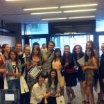 """Câștigătorii celei mai recente ediții a concursului """"Europa jurnaliștilor din amfiteatre"""", premiați la București"""