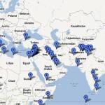 Harta interactivă cu protestele stârnite de filmul care i-a înfuriat pe musulmani
