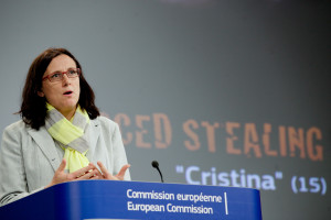 Cecilia Malmstršm statement on Trafficking in Human Beings