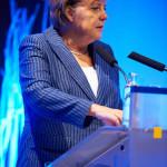 Cancelarul Germaniei, Angela Merkel la un miting musulman împotriva terorismului