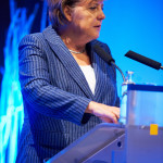 Angela Merkel, la egalitate cu contracandidatul sau, Peer Steinbrück, la singura dezbatere televizata