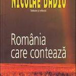 """Nicolae Badiu lansează cartea """"România care contează"""", 3 octombrie, ora 17, Hotel Ibis"""