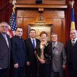 Ambasadorul Romaniei in Statele Unite Iulian Buga s-a intalnit cu romanii din Los Angeles