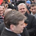 Crin Antonescu, blocat de viscol la Iaşi. Preşedintele PNL speră să ajungă la Bucureşti cu o cursă Tarom din această seară
