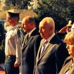 FOTO Băsescu, în Israel: Pacea nu se obţine uşor. În Europa, s-a obţinut cu sacrificii uriaşe