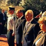 FOTO Reportaj – vizita preşedintelui Băsescu în Israel şi Palestina