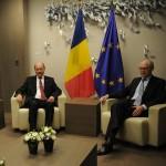 VIDEO.Traian Basescu s-a intalnit, la Bruxelles, cu presedintele Consiliului European, Herman Van Rompuy: Am propus sa incepem din acest an procesul de intrare in Schengen