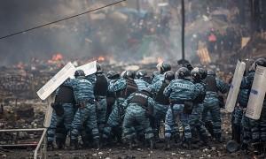 kiev ucraina politie