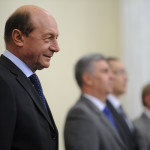 Băsescu, la învestirea Guvernului Ponta 3: Salut revenirea UDMR. Şampanie n-am, premierul mi-a dat buget mic