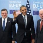 Summitul UE-SUA. ROMPUY: Anexarea Crimeii este o ruşine pentru secolul XXI. OBAMA: Dacă Rusia credea că nimeni nu va observa acţiunile sale, atunci s-a înşelat. Lumea este mai sigură atunci când SUA şi UE sunt solidare