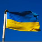 Drapelul Ucrainei, arborat pe una din cele mai înalte clădiri de pe cheiul Moscovei