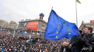 ucraina steag ue protste