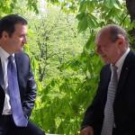"""Președintele Traian Băsescu s-a întâlnit cu Vlad Filat. """"Este un adevărat prieten al Republicii Moldova!"""""""