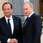 Vladimir Putin, invitat la Paris, alaturi de Hollande si Obama