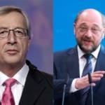 Confruntarea a început. Ce îi reproşează Juncker lui Martin Schulz