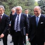IMAGINEA ZILEI. Miniştrii de Externe din Germania şi Franţa, în vizită la Chişinău