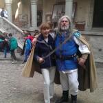 IMAGINEA ZILEI Monica Macovei, cavaler justitiar la Castelul Huniazilor