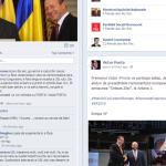 Ponta i-a sters un comment lui Mihai Razvan Ungureanu pe Facebook