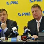 Klaus Iohannis și Crin Antonescu, în cursa pentru candidatura la prezidențiale din partea PNL