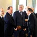EUROPARLAMENTARE 2014. Băsescu: I-am spus lui Blaga de anul trecut că mai bine s-ar gândi la o fuziune cu PMP. A refuzat