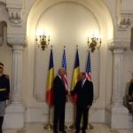 Primele cuvinte ale lui Joe Biden cand l-a vazut pe Traian Basescu la Cotroceni