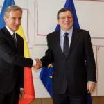 Leancă și Barroso au discutat despre semnarea Acordului de Asociere. Leancă: Integrarea noastră europeană nu exclude relaţiile cu Rusia. Barroso: Acordul de Asociere cu Moldova nu e capătul drumului