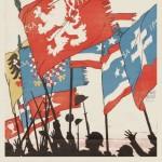 """Expoziția """"Arta în tranșeele Primului Război Mondial"""" – reflectarea războiului în operele artiștilor plastici cehi și români, la Cercul Militar Național"""
