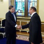 Duane Butcher, primit de preşedintele Băsescu, în vizita de rămas-bun