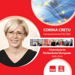 "Corina Crețu: ""Parlamentul European vine in sprijinul muncitorilor disponibilizati de la Mechel Campia Turzii"""