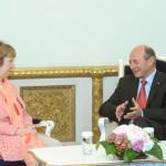 """UPDATE Băsescu și Ashton: Situația de securitate din estul Ucrainei este """"extrem de îngrijorătoare"""""""