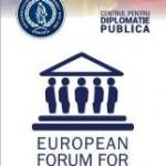LIVE VIDEO Forumul European pentru DIPLOMAŢIE PUBLICĂ, IAŞI, 9 septembrie 2014