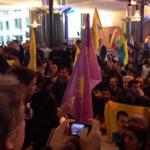 UPDATE Peste o sută de kurzi au pătruns cu forța în sediul Parlamentului European din Bruxelles. MARTIN SCHULZ s-a întâlnit cu o delegație a lor