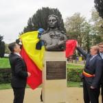 Titus Corlăţean a participat la ceremonia dezvelirii bustului savantului Dimitrie Cantemir de la Bruxelles