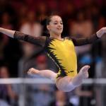 Larisa Iordache, ARGINT la individual compus la CM de gimnastică