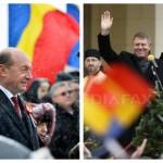 Iese Băsescu, intră Iohannis
