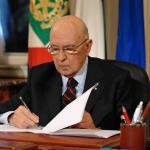 Presedintele Italiei, Giorgio Napolitano, a demisionat