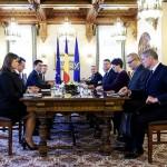 Klaus Iohannis l-a primit la Cotroceni pe ministrul de externe ucrainean